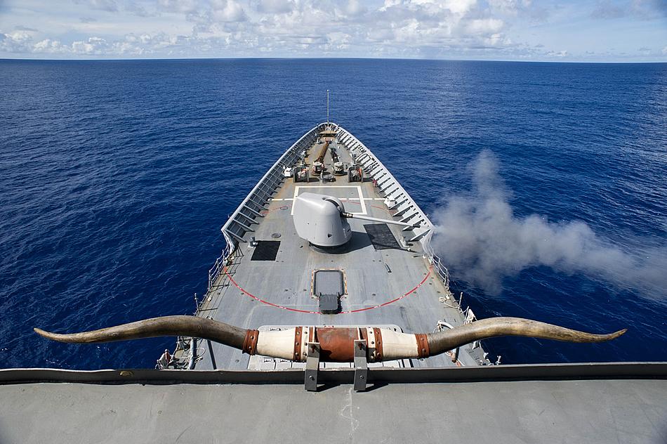 Uss Cowpens Collision Military Photos Navy L...
